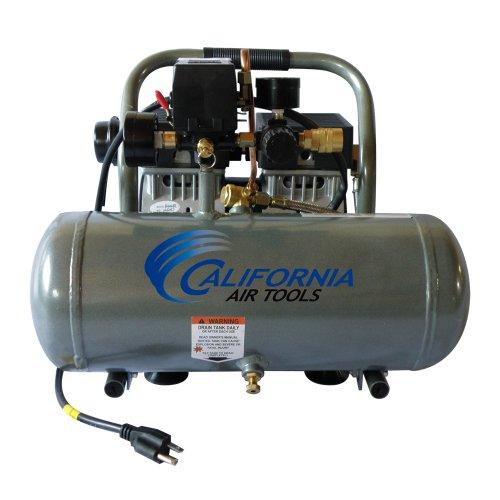 California Air Tools CAT-1675A Ultra Quiet and Oil-Free 34 Hp 16-Gallon Aluminum Tank Air Compressor