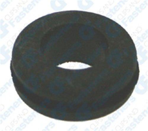 Clipsandfasteners Inc 25 Rubber Grommets 38 Bore Diameter 58 OD