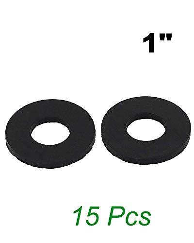 1 OD Hose Gasket O Ring Flat Rubber Washers Neoprene Washers Rubber Flat Washer Grommet Faucet O Rings - 15 Pcs Rubber Washers Set O Ring Rubber Gasket O Ring Rubber Washer