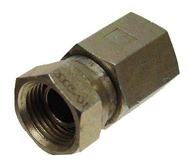 Apache 39004850 075 in Female Pipe x 075 in Female Pipe Swivel Hydraulic Adapter