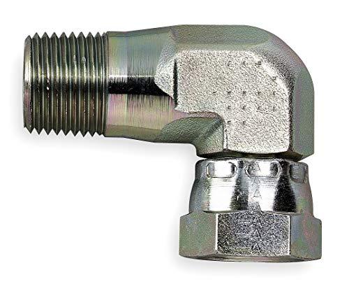 Eaton Male NPT to Female NPSM Swivel Elbow Internal Pipe Swivel Hydraulic Hose Adapter - 2047-12-12S Pack of 2