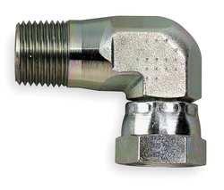 Eaton Male NPT to Female NPSM Swivel Elbow Internal Pipe Swivel Hydraulic Hose Adapter - 2047-8-8S Pack of 5
