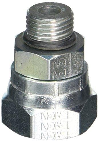 Eaton Weatherhead 9315X6X8 Carbon Steel Straight Thread O-Ring Adapter Swivel Adapter 12 Female Pipe Swivel x 916 Male Straight Thread O-Ring
