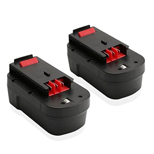 Energup 2 Pack 18V 30Ah Replacement Battery for Black Decker HPB18 HPB18-OPE 244760-00 A1718 A18 A18E Firestorm FS180BX FS18BX FS18FL FSB18 NST2118
