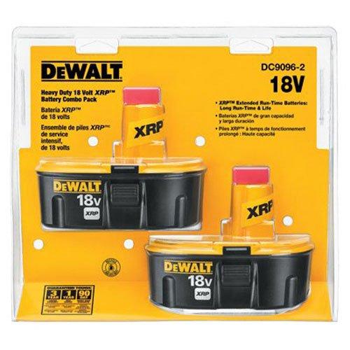 DEWALT DC9096-2 18-Volt XRP 24 Amp Hour NiCad Pod-Style Battery 2-Pack