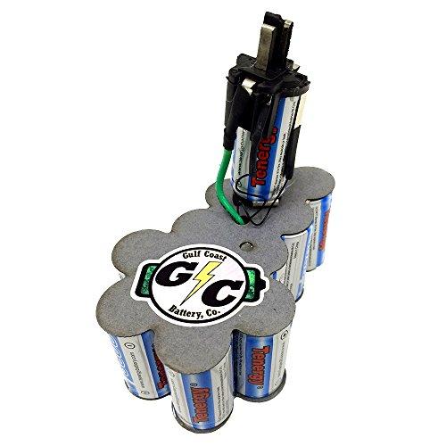 DeWALT XRP Battery 144V DC9091 UPGRADED Internals Tenergy 38Ah NiMH