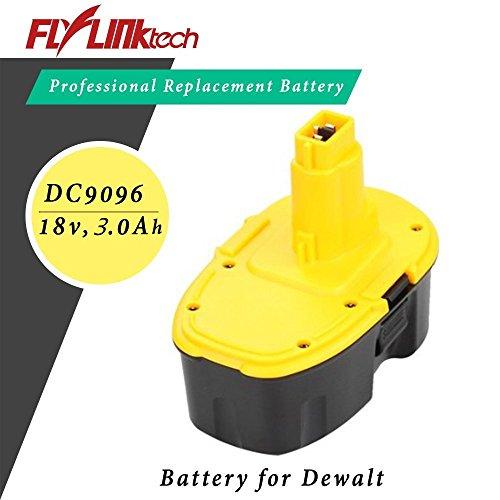 Flylinktech 30Ah 18V Replacement Battery for Dewalt 18 Volt XRP DC9096 DE9039 DE9095 DE9096 DW9095 DW9096