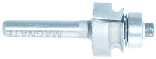 Magnate 5808 Edge Beading Carbide Tipped Router Bit - 18 Bead Diameter 14 Shank Diameter