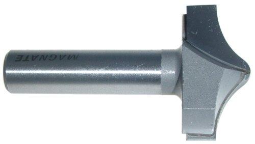 Magnate 7554 Barley Twist Carbide Tipped Router Bit - 1-12 Cutting Diameter 2 Shank Length