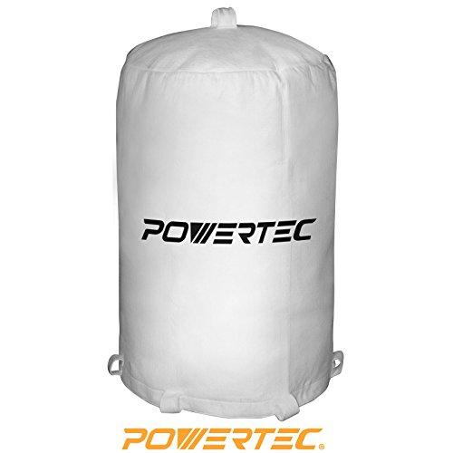POWERTEC 70001 Dust Collector Bag 20 x 31 1 Micron Filter