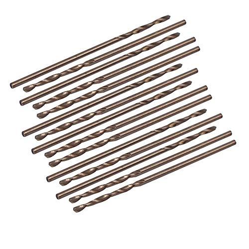 Helen-Box - 15PCS 11-22mm Split Point HSS Cobalt Metric Twist Drill Bit Drilling Tool for Electrical Tool Key-less Drill Chucks
