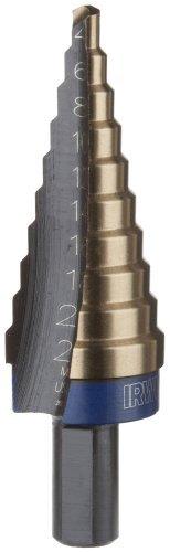 Irwin Industrial Tools 11104CB Unibit 4mm - 22mm 10-Steps 2MM Increments Cobalt Step Drill Bit by Irwin Tools