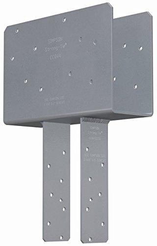 3 Pack Simpson Strong Tie CCQ44SDS25 4x Beam 4x Post Column Cap wSDS Screws