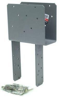 Simpson Strong Tie ECCQ5-6SDS25 5-18 Beam 6x Post End Column Cap wSDS Screws