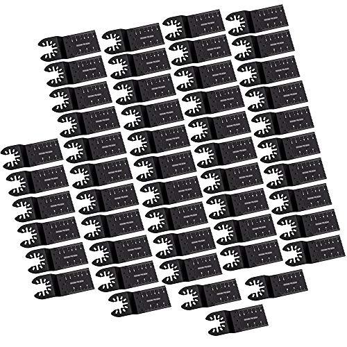50x Carbon Steel Cutter Oscillating Multi Tool DIY Universal Saw Blades 34mm