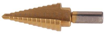 Shop-Tek 80765 Titanium HSS M2 Steel 9-Step Drill Bit