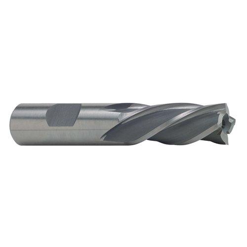 TTC 716 x 38 Left Hand SpiralRH Cut HSS 4 Flute Single End Mill