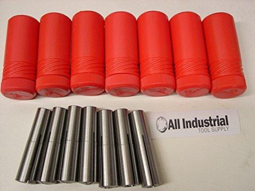 2 Morse Taper Collet 7 Pc  Set 18 - 12 2MT MT2 316 14 38 Round Chuck