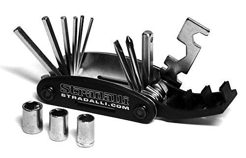 Multi-function Tool Kit Mechanics 16 in 1 Set Portable Folding Travel