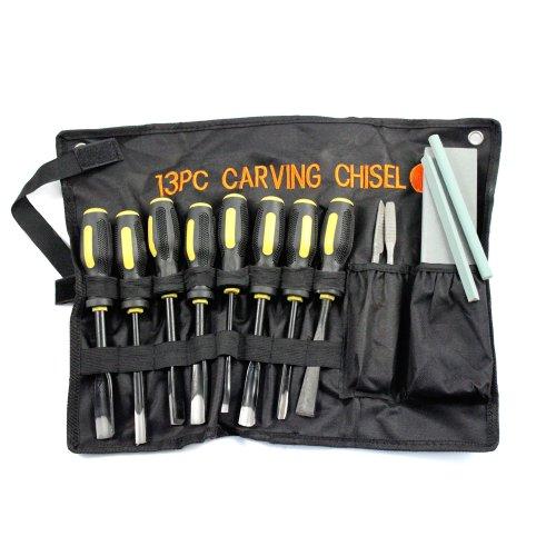 13pc Professional Wood Carving Chisel Set