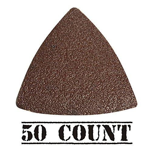 Ridgid 902460001 Sandpaper 80-Grit For Jobmax Multi Tool Head 50-pack