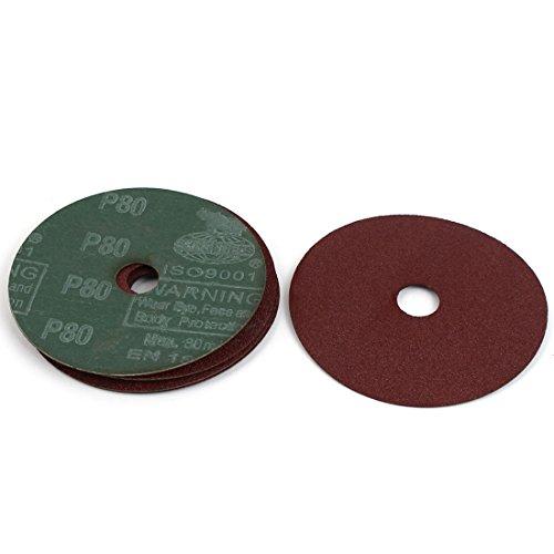uxcell Grinding Polishing Tool Sanding Disc Sandpaper 80 Grit 4 Dia 5pcs