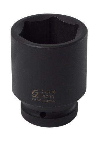 Sunex 570D 1-Inch Drive 2-316-Inch Deep Impact Socket