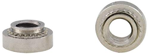 4-40 00299 Min Panel Thickness Round Head Clinch Captive Nut pack of 10