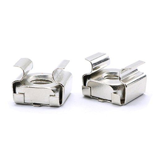 M6 Cage NutStainless SteelPack of 30-PieceM6 Captive Nut
