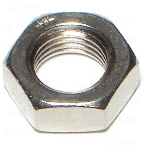 Hard-to-Find Fastener 014973185664 Jam Nuts 10-Piece