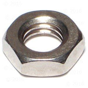 Hard-to-Find Fastener 014973185671 Jam Nuts 8-Piece