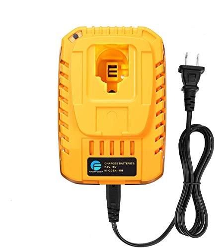 FirstPower DC9310 Battery Charger for DEWALT 72V-18V NiCad NiMh Battery DW9057 DC9099 DC9096 DC9098 DC9038 DC9091 DW9072 Not Lithium-ion Battery