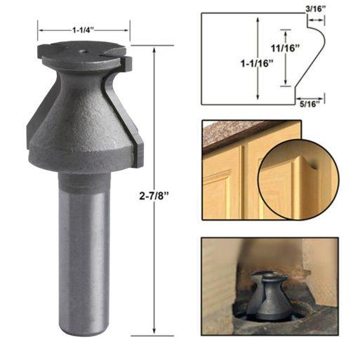 HOPELUO 12 Shank Door Lip Finger Grip Router Bit Shaker Woodworking Chisel Tool New