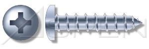 1000 pcs 8 X 3 Self-Tapping Sheet Metal Screws Pan Phillips Drive Type A Steel Zinc Ships FREE in USA by Aspen Fasteners
