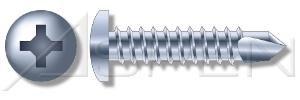 2000 pcs 8 X 3 Self-Drilling Screws Pan Phillips Drive Steel Zinc Ships FREE in USA by Aspen Fasteners