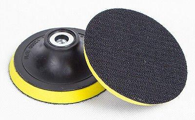 6-Inch M14 Angle Grinder Sanding Polishing Velcro Backing Pad - 1PCS