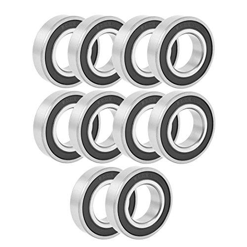 Deep Groove Bearing - SODIALR Sealing Deep Groove Radial Ball Bearing 6005RS 25mmx47mmx12mm 10PCS