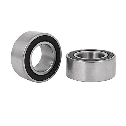 uxcell 30mm x55mm x 23mm Metal Shielded Deep Groove Radial Ball Bearing 2pcs