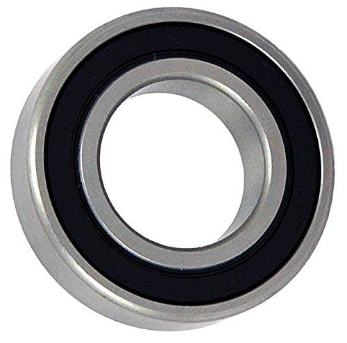 Big Bearing 586202 Radial Ball Bearing 2 Rubber Seals 58 Bore 35 mm Diameter 11 mm Width MetalRubber