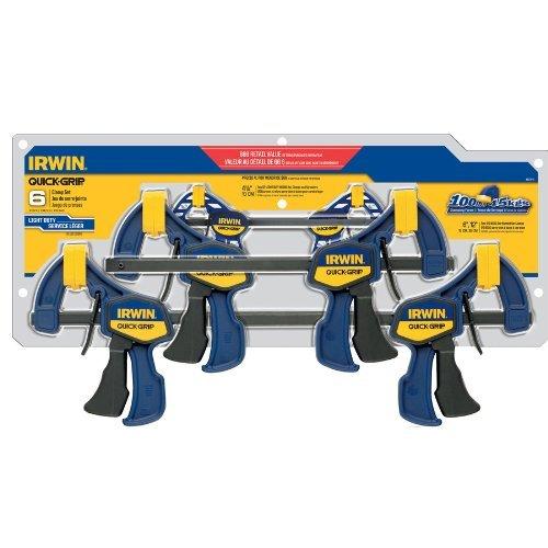 Irwin Quick Grip 6 Clamp Set