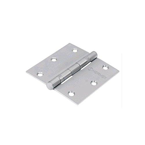 Truper - Lawn Garden Tools 20901136 Stainless Steel Door Hinge 3x3