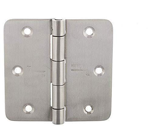 s siskcon 3 Pieces Stainless Steel Screen Door Hinges PIN Lock TECNIC 35 X 35 Satin Finish 353525RS-SP-32D 14 Radius Heavy Duty Design Suitable for All Types of Door s siskcon - Pack of 1