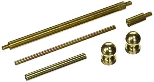 Stanley Hardware CD750 4 X 4 Solid Brass Hinge Tip Kit in Bright Brass