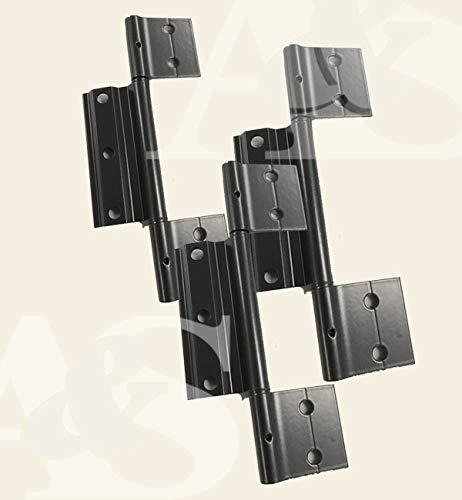 Screen Doors Hinge Bronze - Pack of Three 3 ea