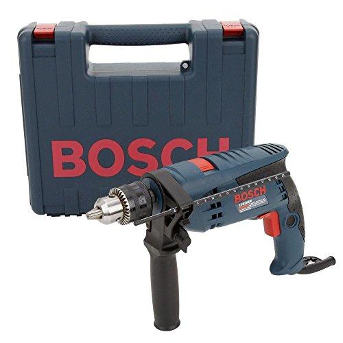 Bosch 1191VSRK-RT 12-Inch 7-Amp Corded Variable-Speed Hammer Drill wCase Renewed