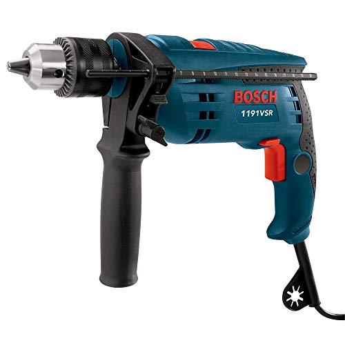 Bosch 1191VSRK-RT 120V 12-Inch Single Speed Hammer Drill Renewed