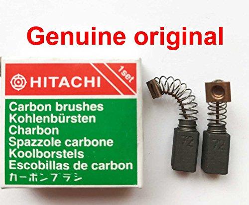 Genuine Hitachi CARBON Brushes 999072 DH24PB3 DH24PC3 DH24PF3 W6VA3 W6V3L DV14V DH24PE DH24PB DH24PC DH24PES DH24PF D10V D10Y D6SA D6V DR10 DRC10 DV20V2 DVR10 DVR13 W6 W6SA W6V W6V3 W6VA H72