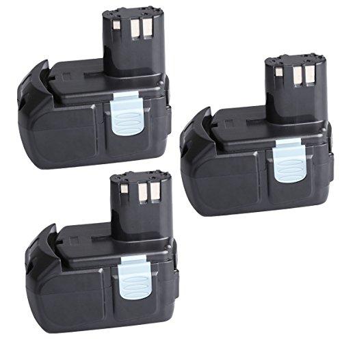 "3 Pack SANCCâ""¢ 18V 4000Mah 40Ah Lithium-Ion HXP Battery Pack for Hitachi BCL1815 EBM1830"