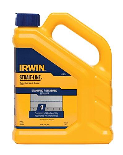 IRWIN Tools STRAIT-LINE 65201 Standard Marking Chalk 25-pound Blue 65201