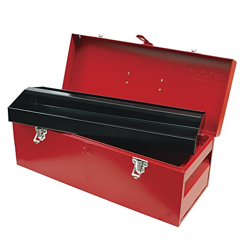 Metal Tool Box 20L X 7-78W X 7-78H 24 Sheet Gauge